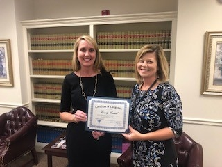 Cassidy Connell Receives Facilitation Skills Certificate